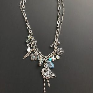 Park Lane Necklace with multiple charms